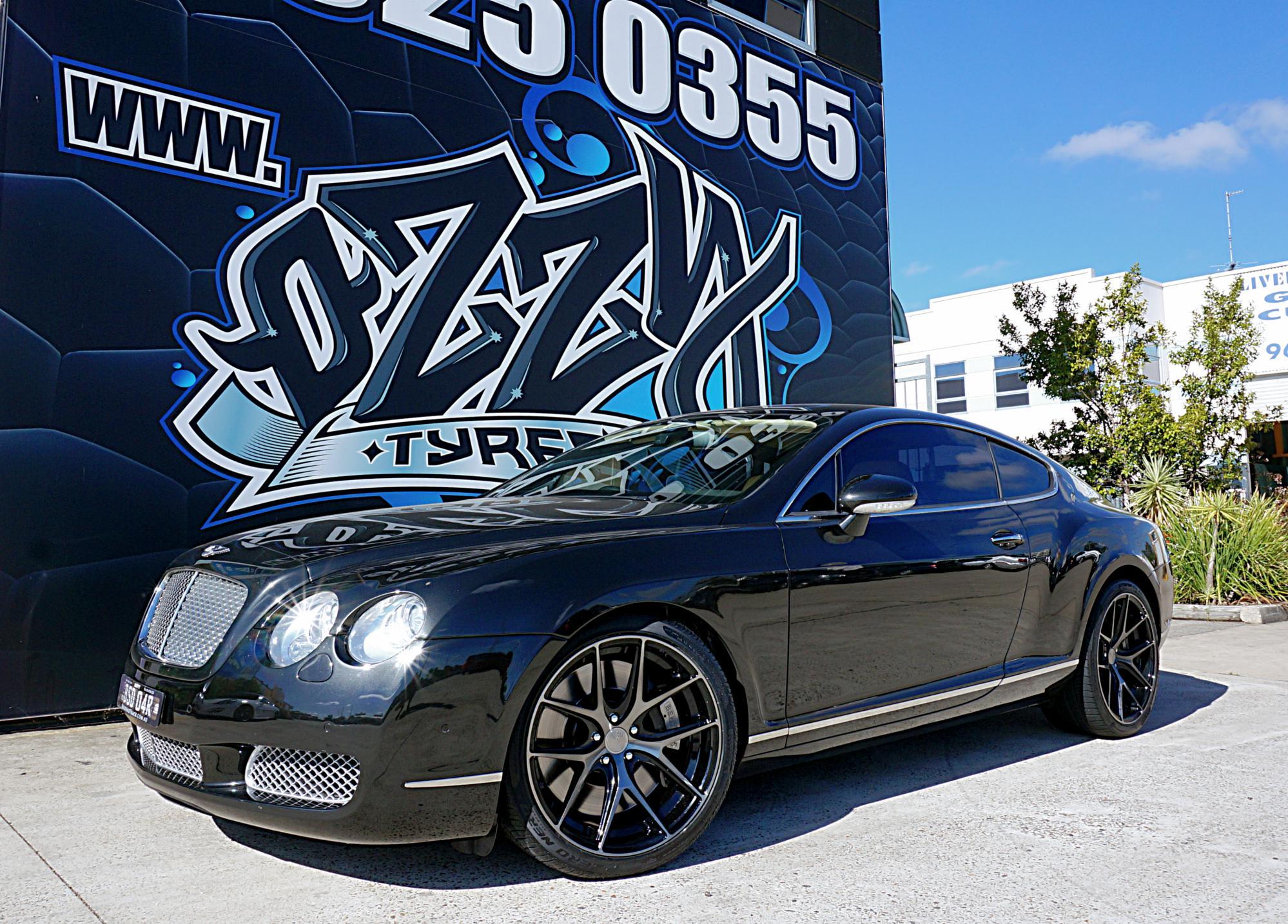 Bentley Continental GT gets Avant Garde M580