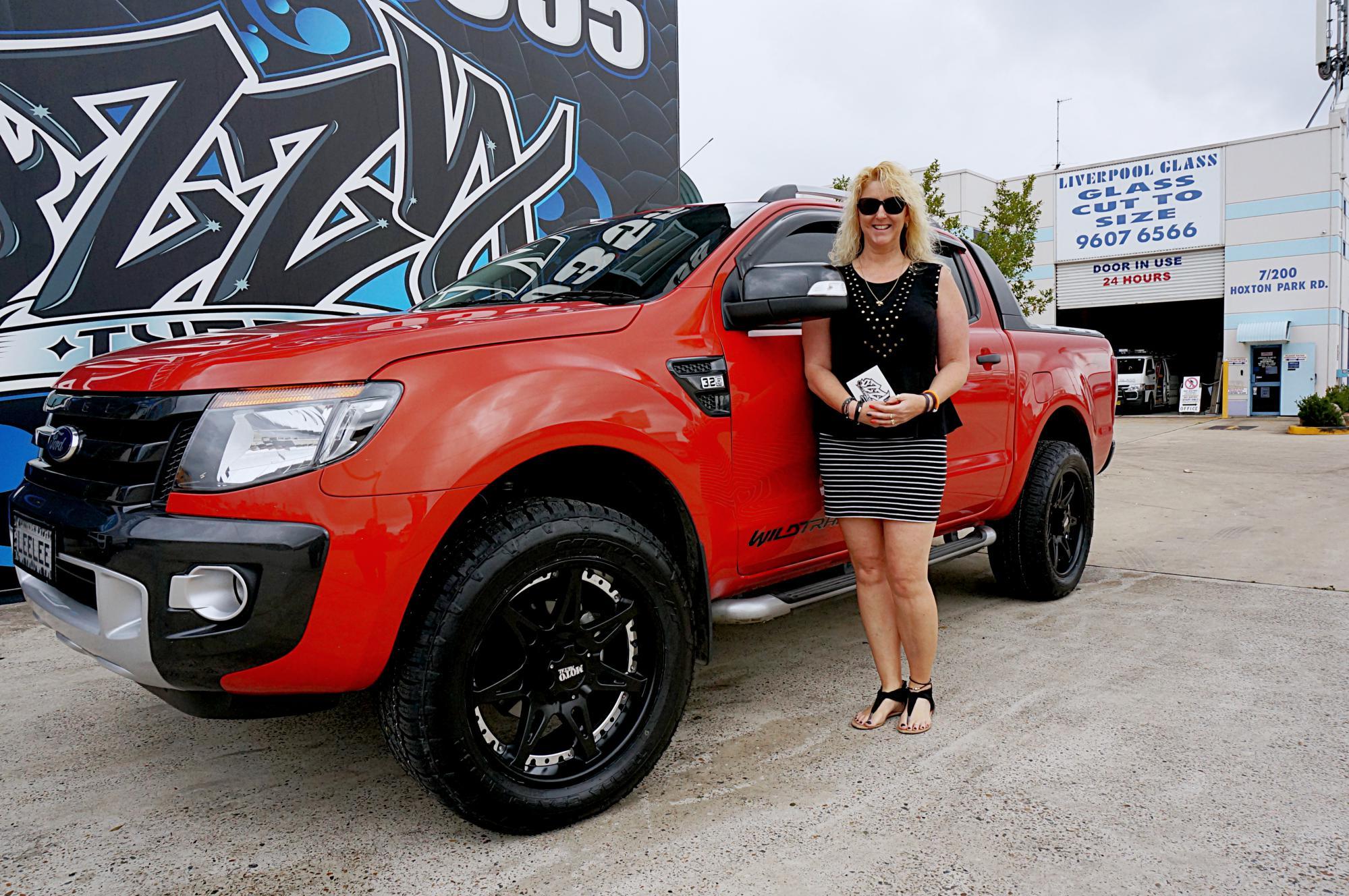 Lady tough, Leanne's Ranger gets Moto961