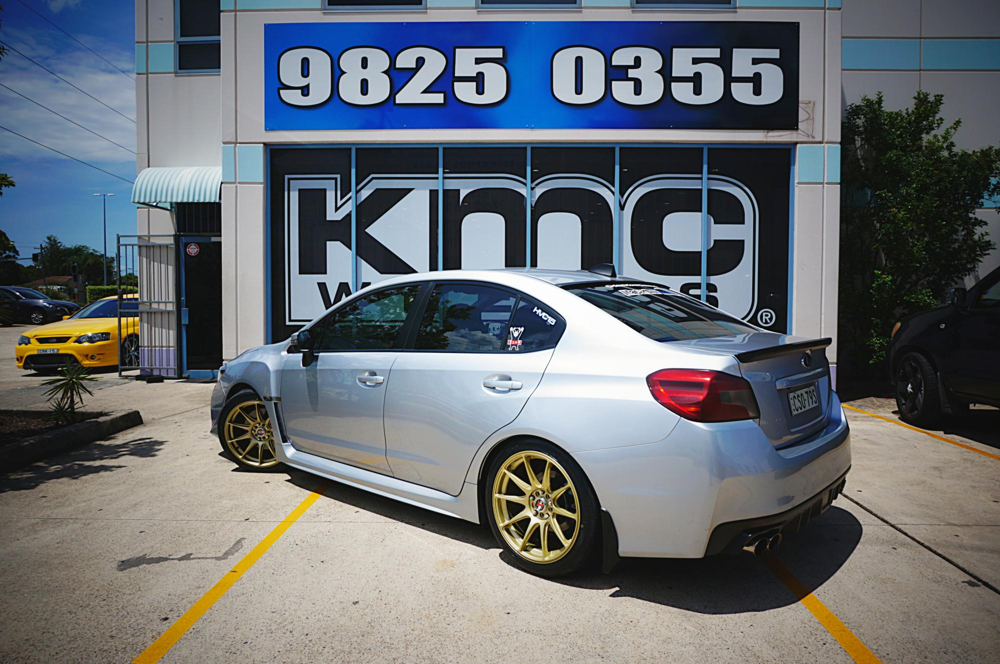 2015 Subaru WRX gets HXR527 and Nitto INVO – function right.