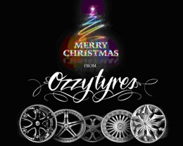 Merry Christmas from All of Us at Ozzy Tyres!!!