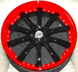 Ozzy Tyres Custom Painted Finishes