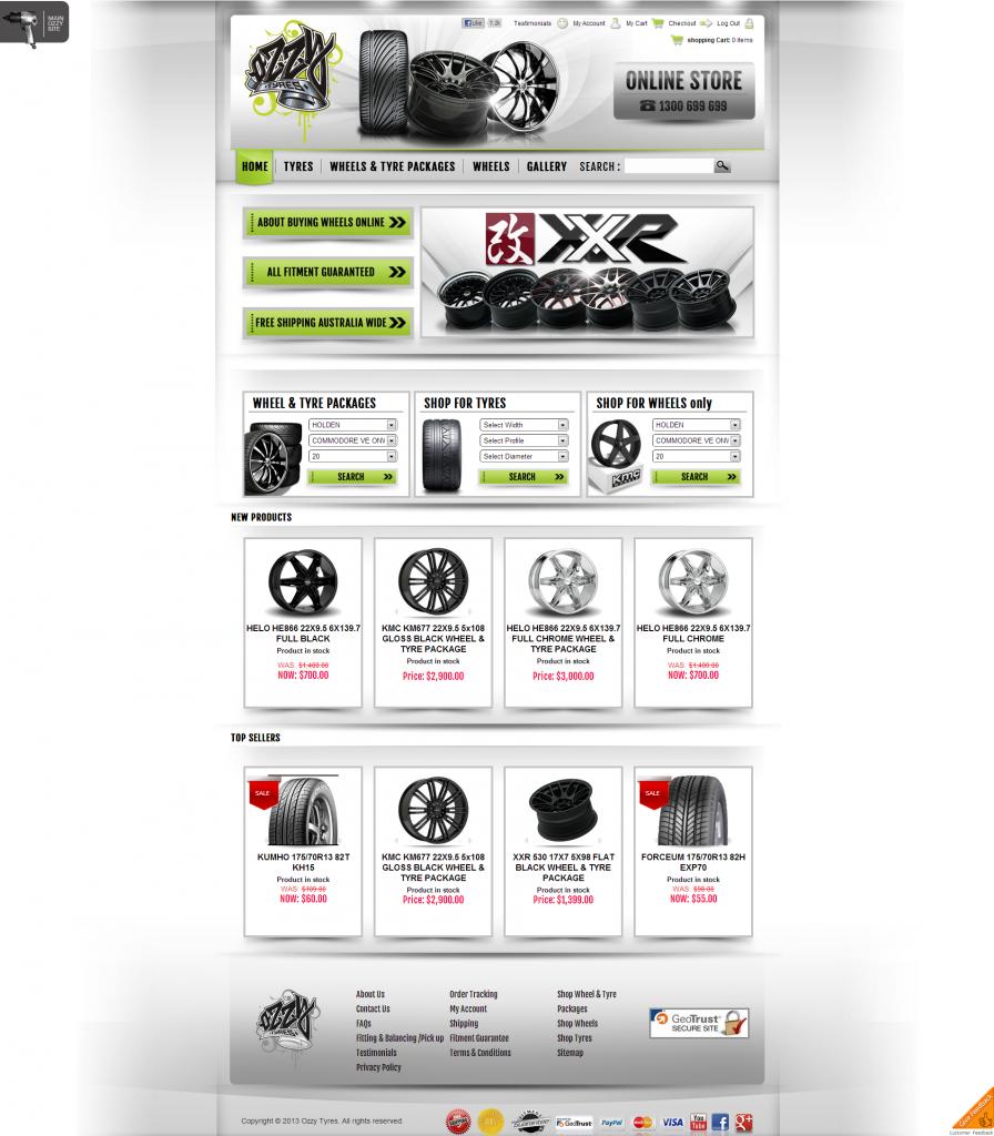 Ozzytyres Online Store