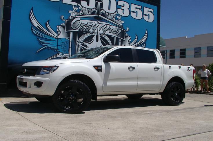 Ford Ranger Rims & wheels