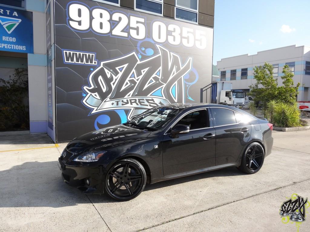 Lexus IS250 Rims