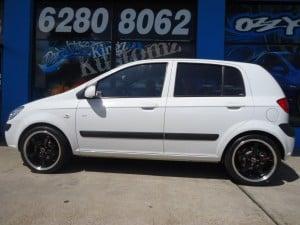Hyundai Getz Mag Wheels and Tyres Australia
