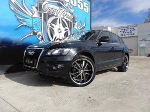 2646 Audi Q7 with Lexani LSS55 SS 1