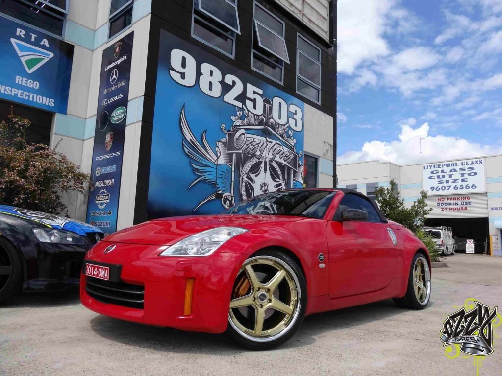 Nissan 350z Rims