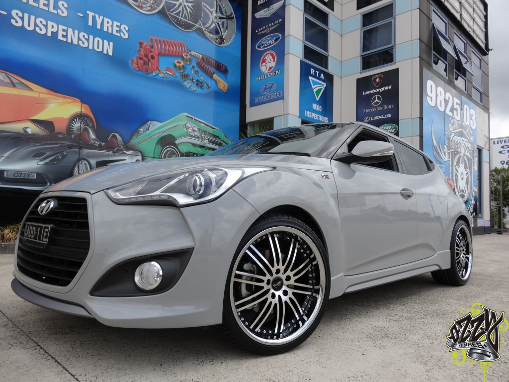 Hyundai Veloster Rims