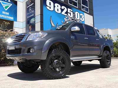 Matte Black 4WD Rims - KMC Rockstar XD II