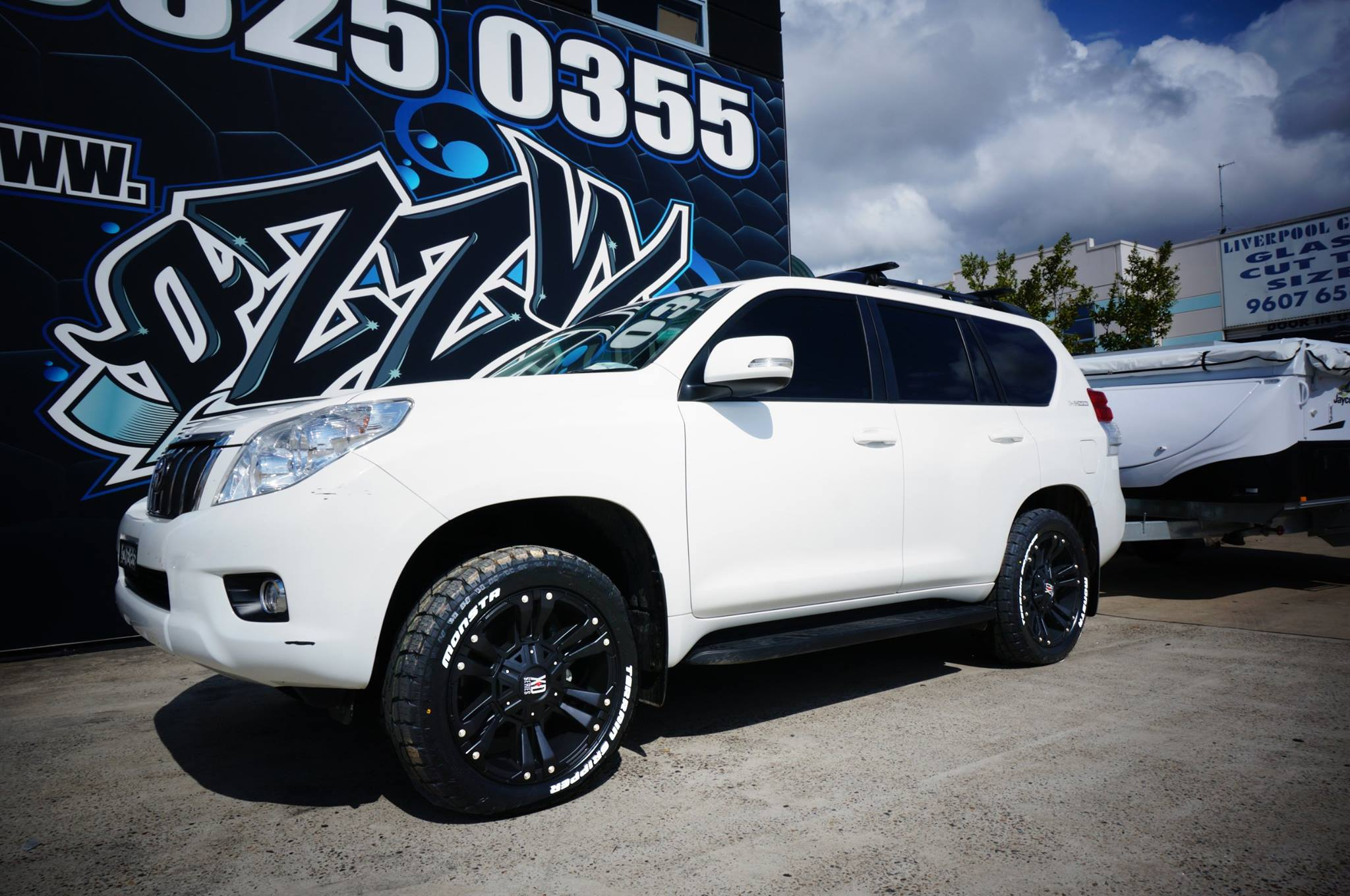 toyota prado wheels rims \u0026 tyres suitable for toyota prado\u0027s