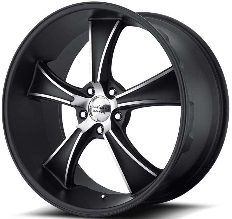 black-american-racing-wheels