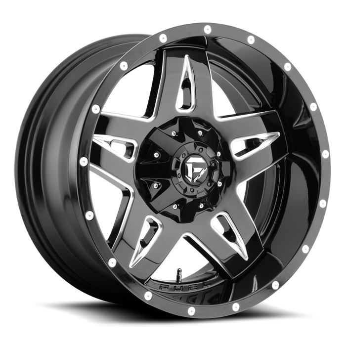 black-and-silver-fuel-offroad-wheels