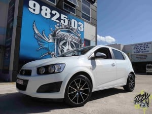 Holden Barina tyres