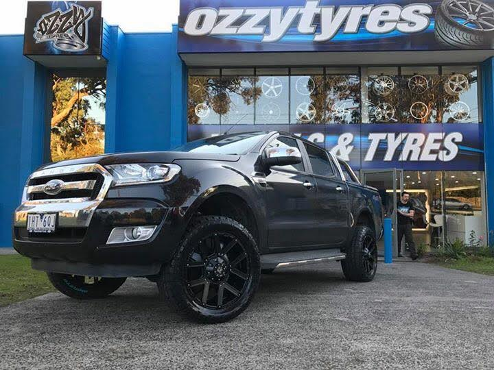 black-ford-ranger-with-hussla-rims