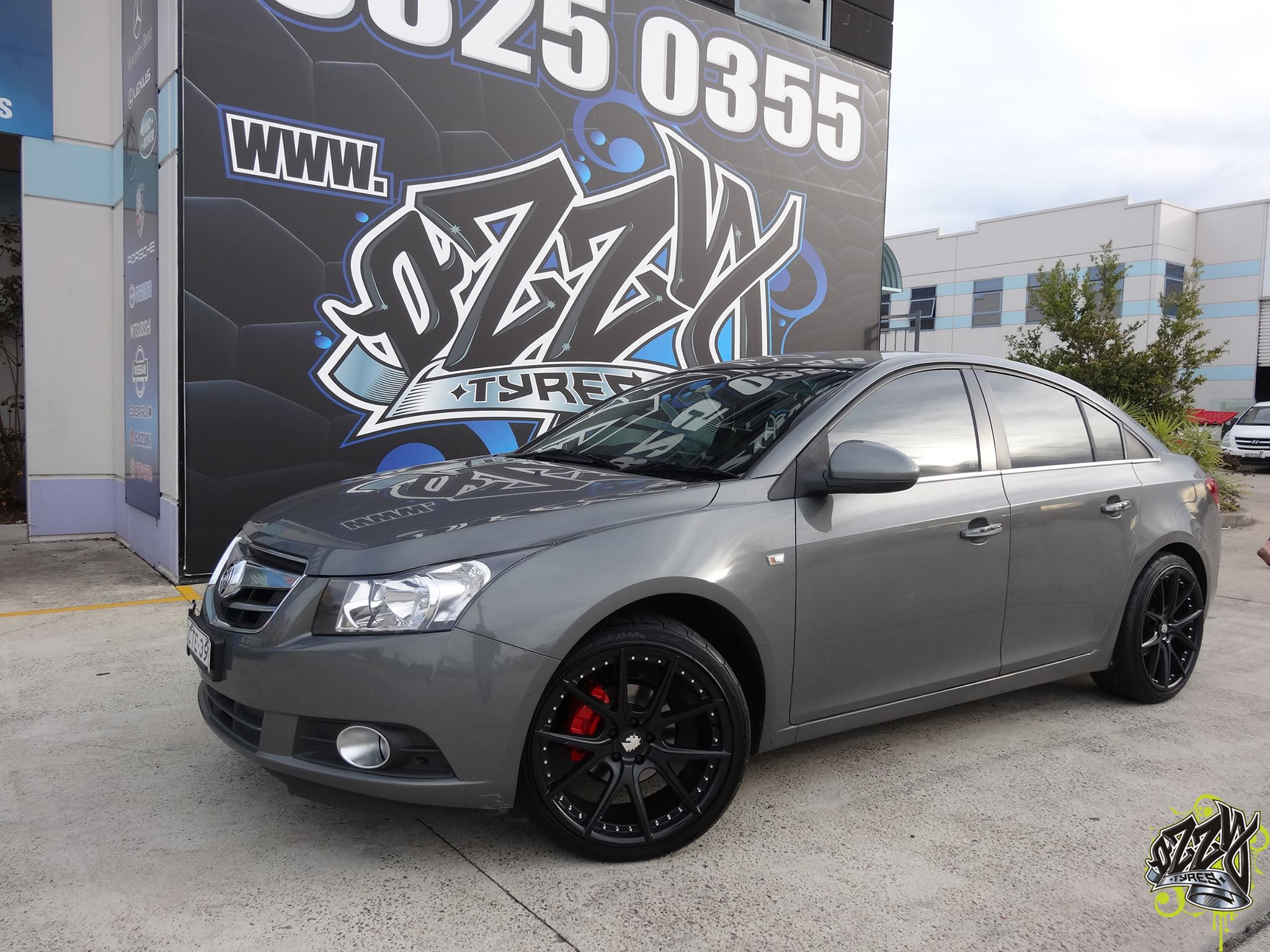 Holden Cruze Rims Available From Ozzy Tyres Australia