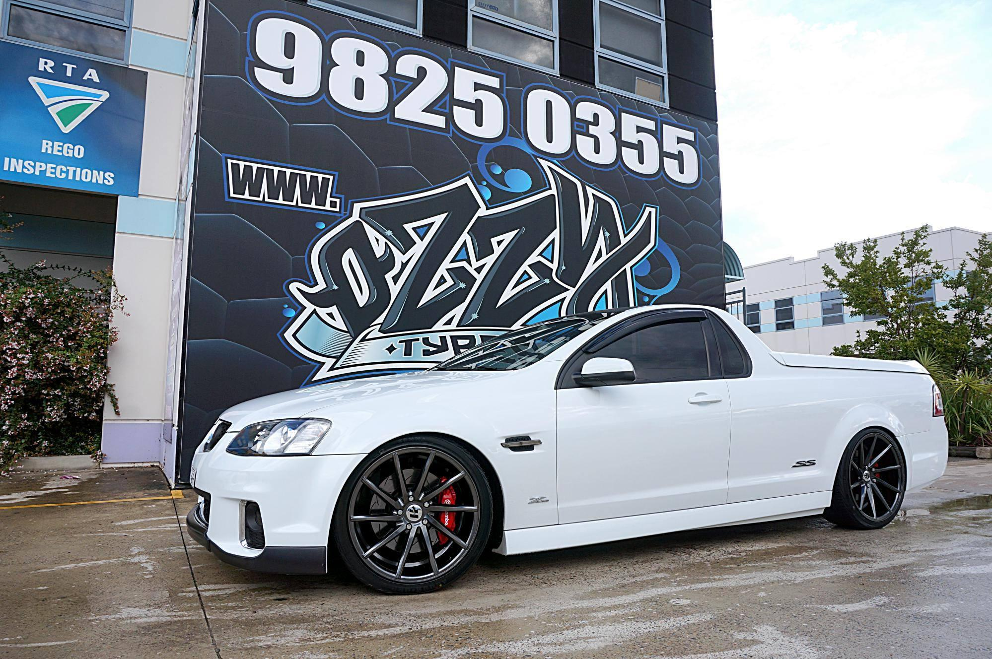 white-ss-holden-commodore-ute-with-hussla-rims