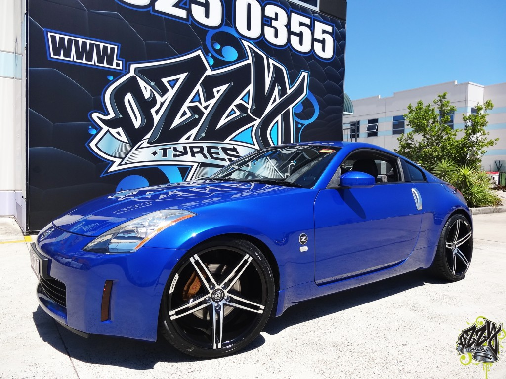 Nissan 350Z Tyres