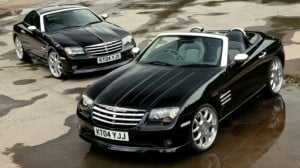 Chrysler crossfire tyres