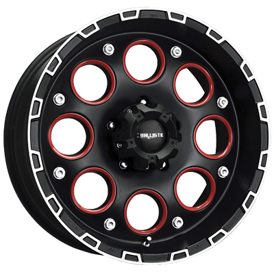 Ballistic Enigma Wheels (Shown with optional red inserts)
