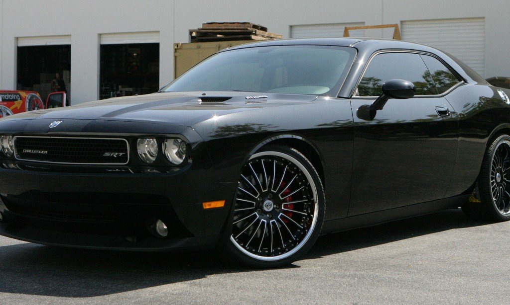 Dodge Challenger with Lexani Advocate Wheels!