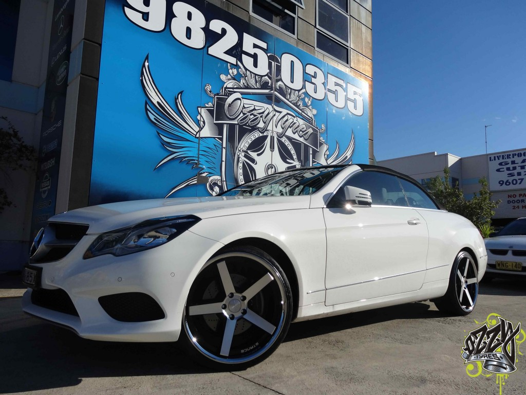 MERCEDES WITH STANCE SC5IVE
