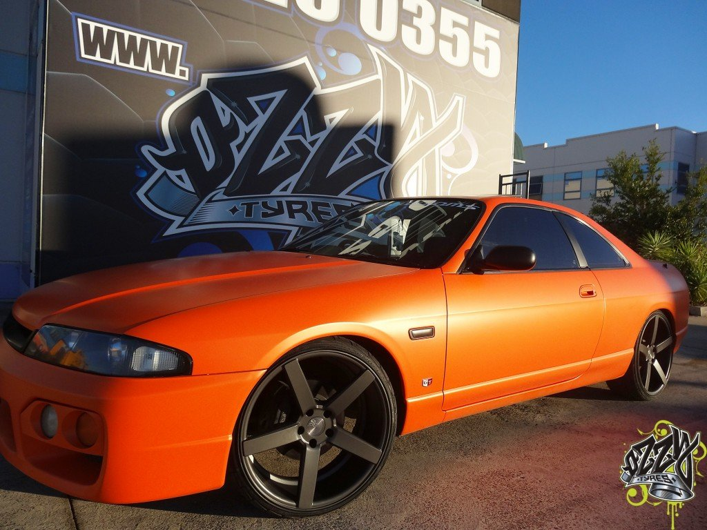 Nissan Skyline Wheels And Tyres