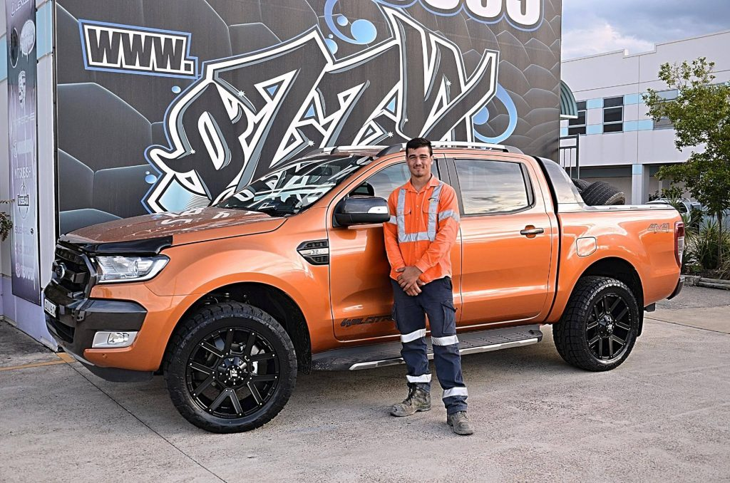 orange-wildtrak-ford-ranger-with-new-hussla-4wd-rims