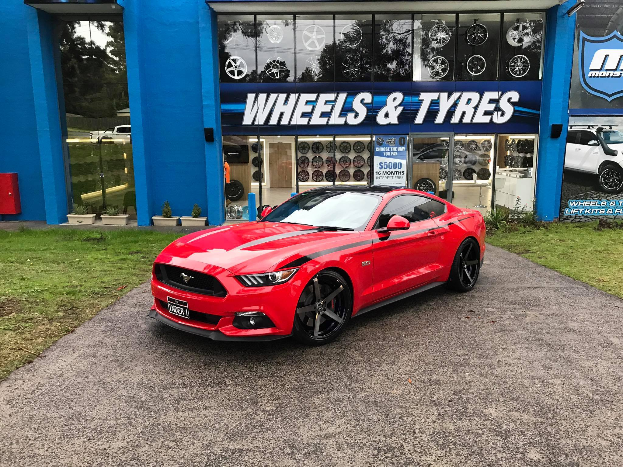 red-mustang-with-black-wheels