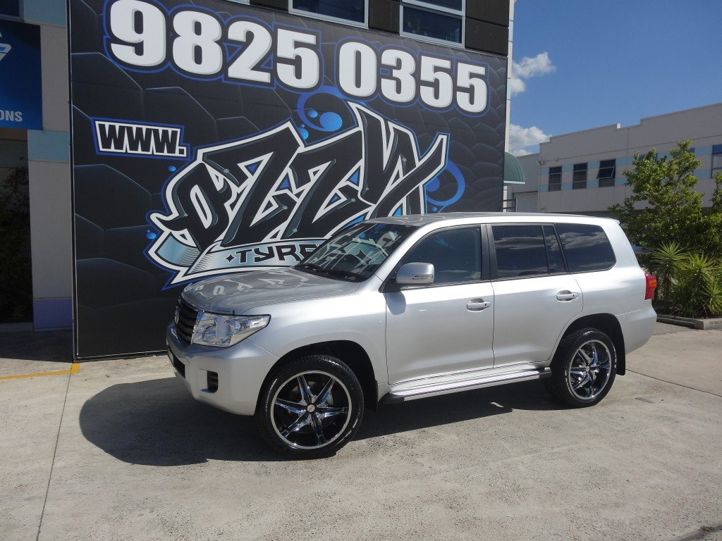 Toyota Landcruiser Alloy Rims