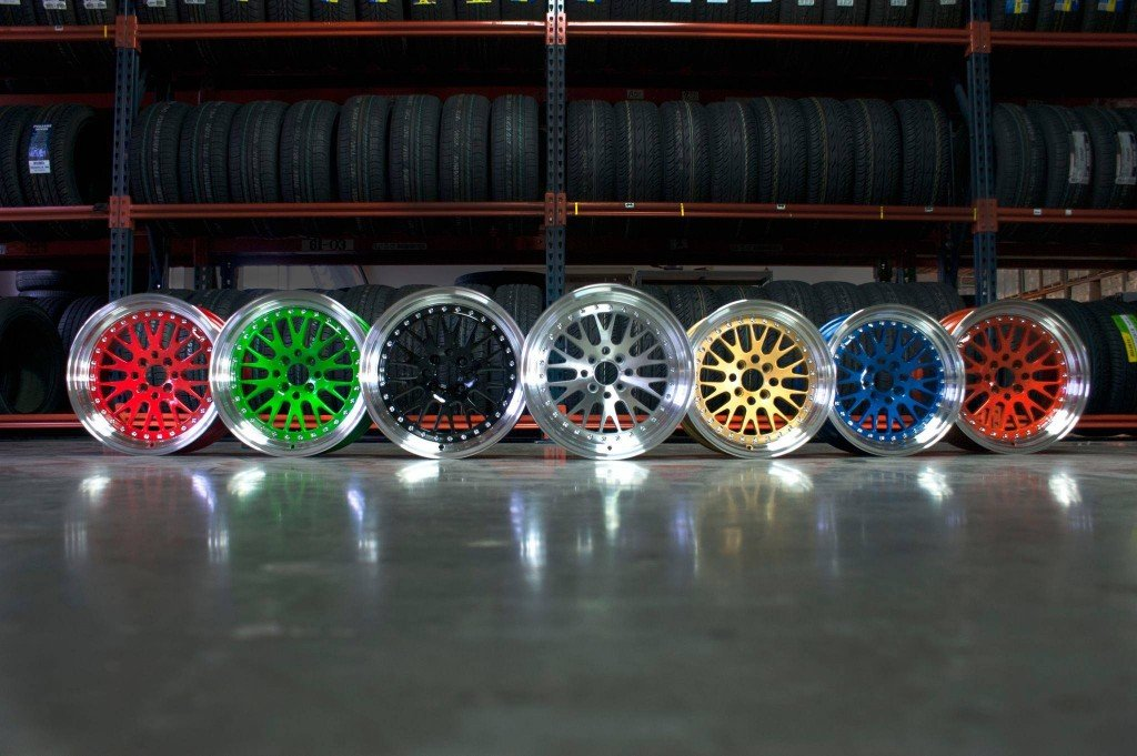 Here Are Some Of The Other Reasons As To Why You Should Purchase Your New Set Colored Rims From Us