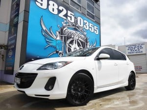 Mag Wheels To Suit Mazda 3 Ozzy Tyres