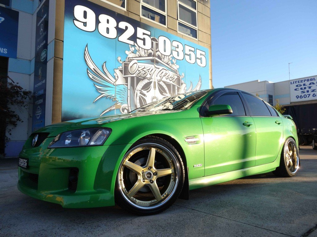 Vertini Wheels on VE Commodore