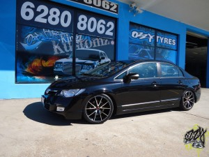 Get Stock Honda Civic Rims in Canberra From Ozzy Tyres Fyshwick Today!