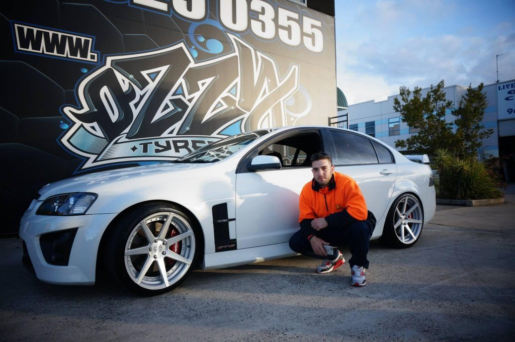 2016-white-gts-holden-hsv-with-silver-rims