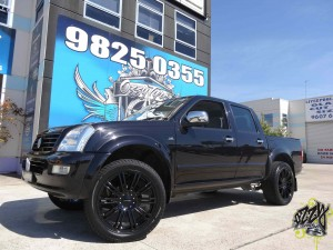 Holden rodeo rims for sale
