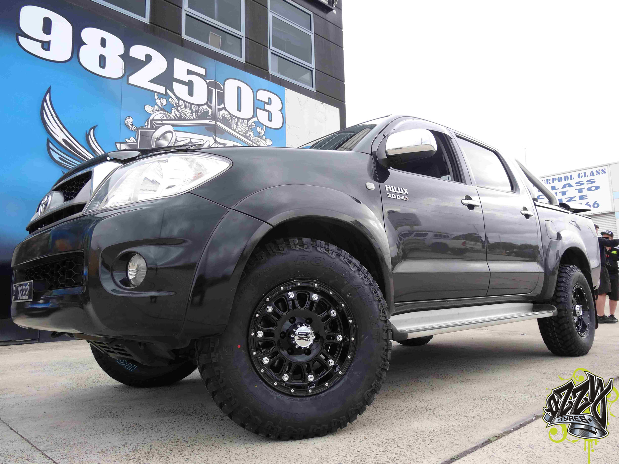 Get Your Toyota Hilux Wheels and Tyres From Ozzy Tyres Today!