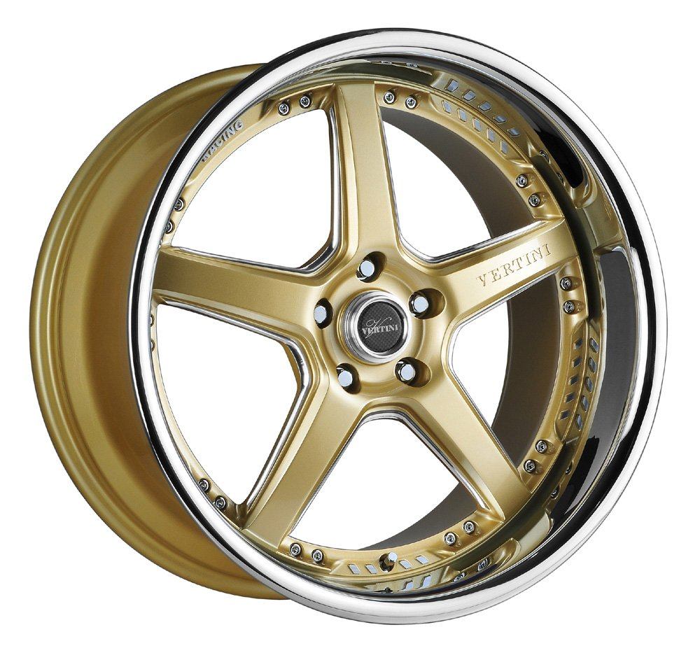Audi Gold Rims