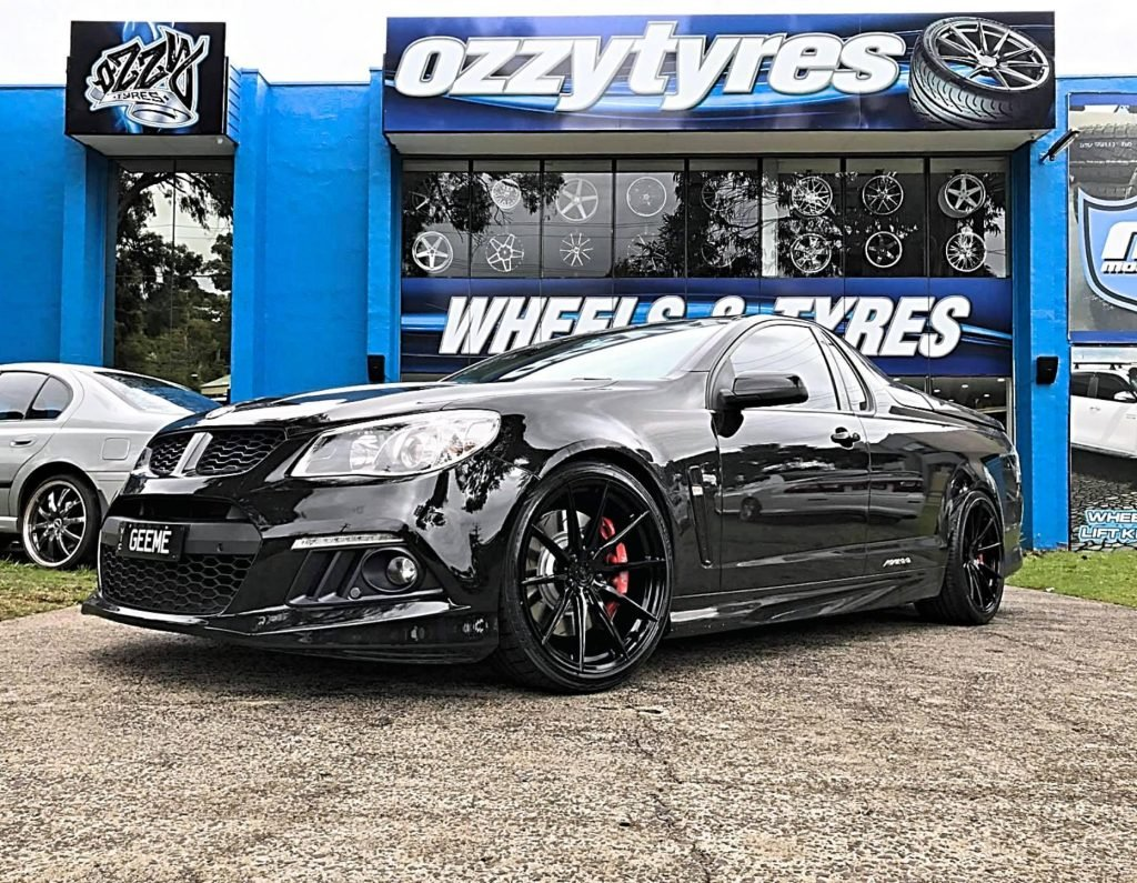 black-holden-hsv-ute-fitted-with-black-rims