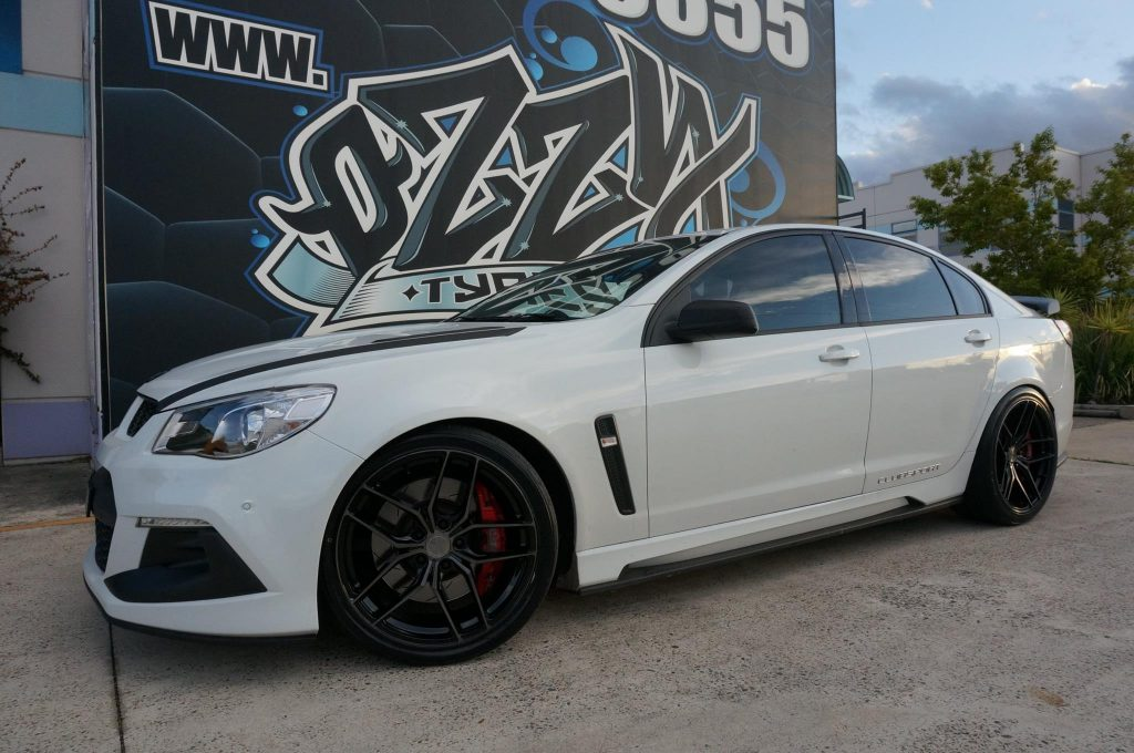 white-2016-holden-hsv-clubsport-fitted-with-black-rims