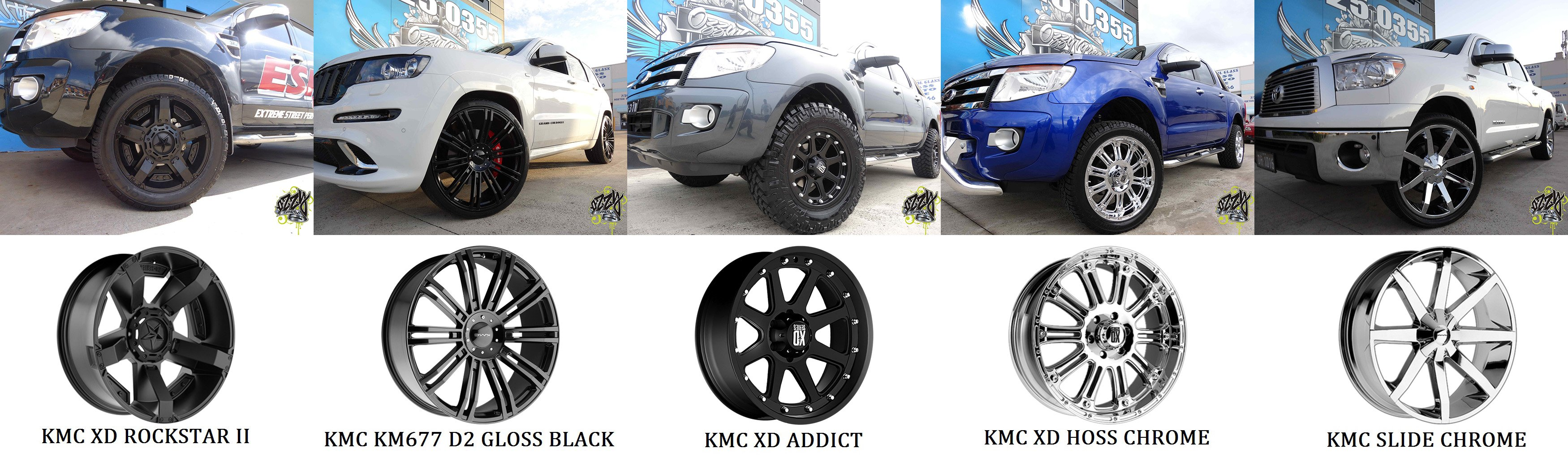 KMC Beadlock Wheels