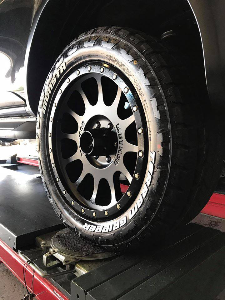 4wd-toyota-hilux-trd-new-suspension-lift-kit-method-race-wheels-with-monsta-4x4-tyres-fitted-at-our-rockdale-store