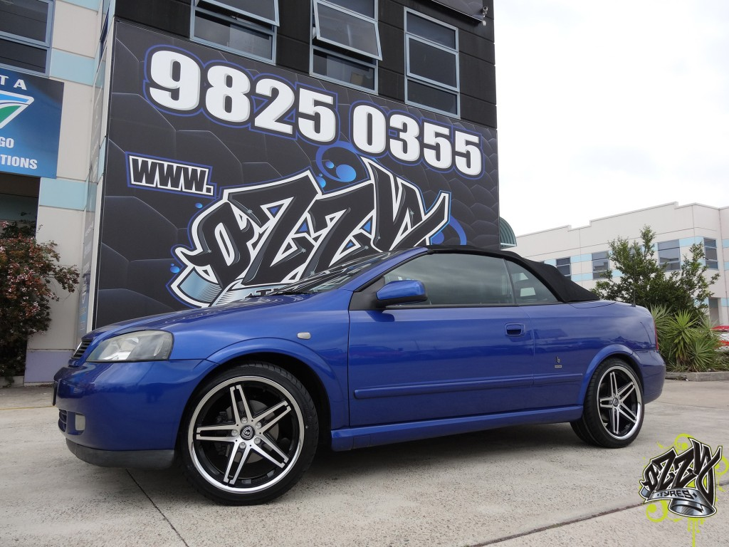 Holden Astra Mag Wheels