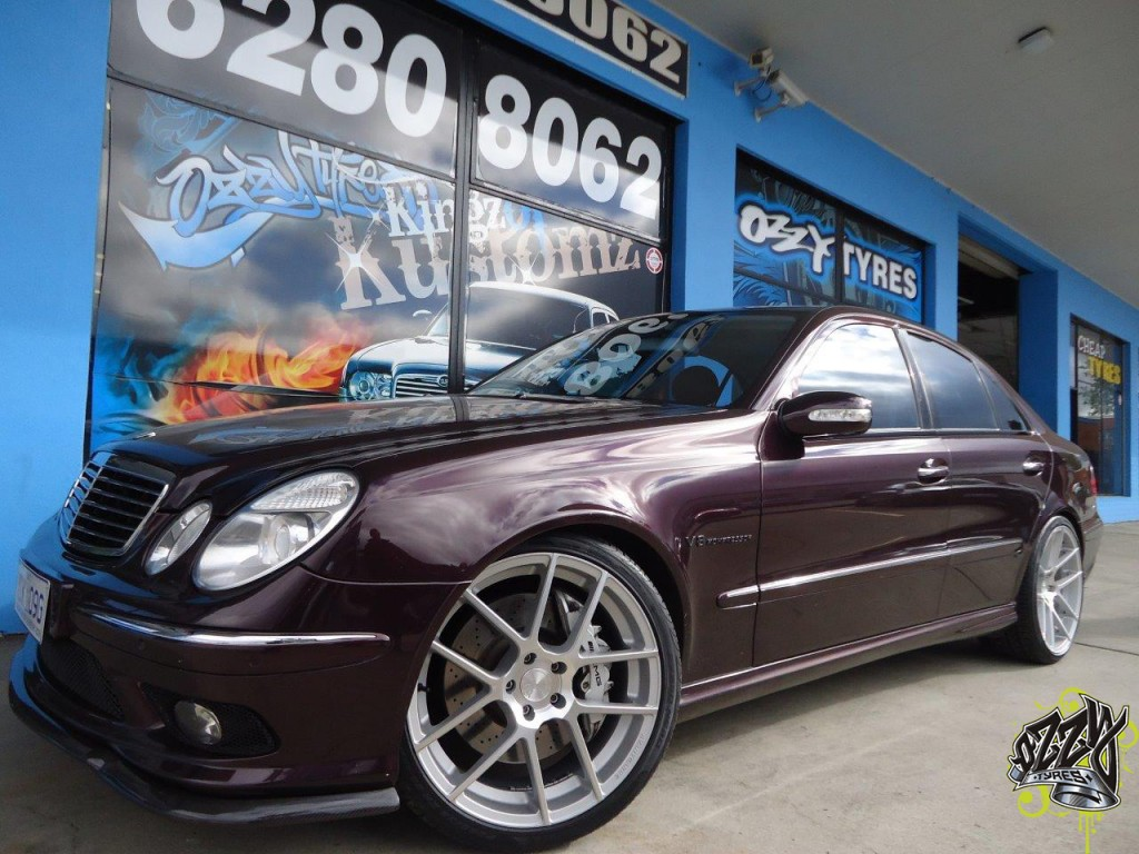 Mag Wheels On Mercedes C Class
