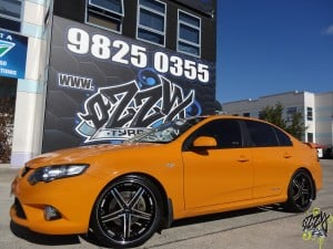 Ford Falcon Mag Wheels