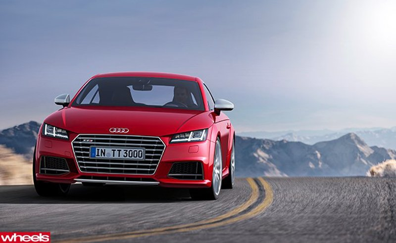 Audi reveal lighter & faster TT-1