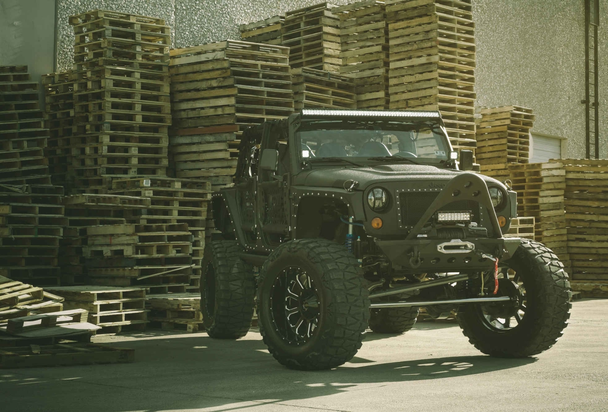 Full Metal Jacket Jeep Wrangler w/ XD Bomb Wheels