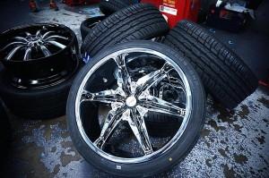 chrome mag wheels
