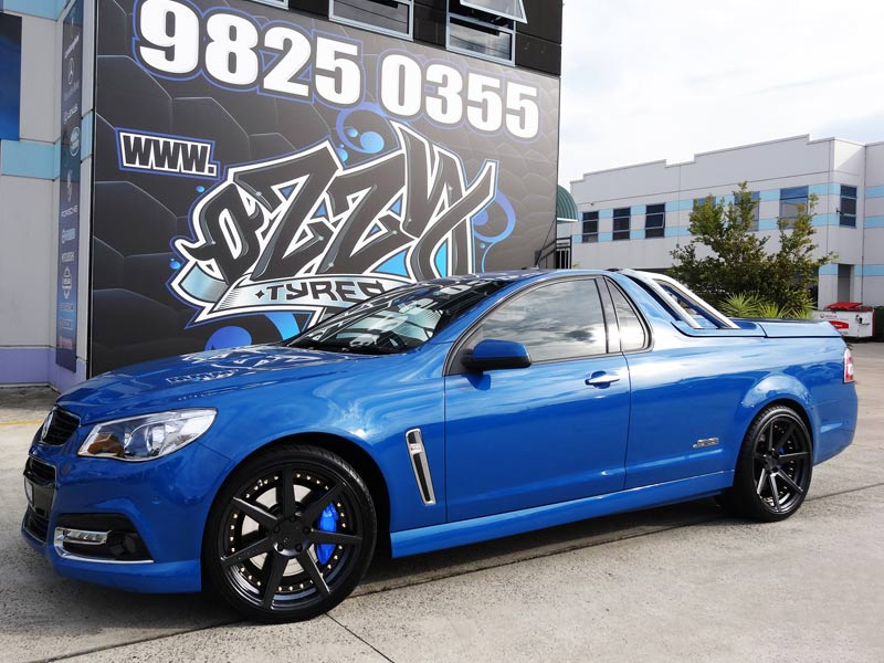 Holden Ute with Vertini Dynastys