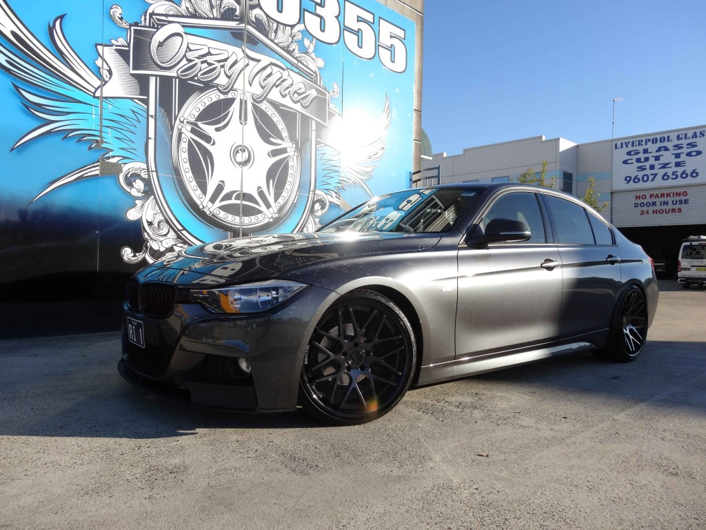 BMW 3 Series with Vertini Magic in Matte Black