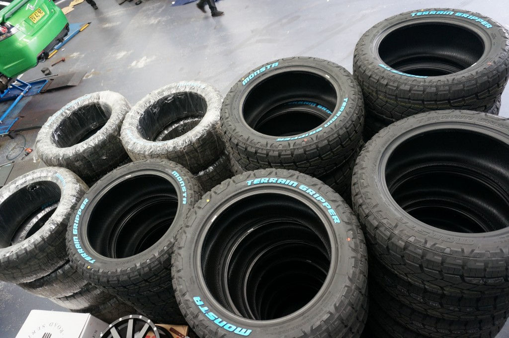 20 INCH TYRES